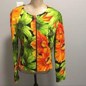 🇨🇦 Joseph Ribkoff Flowered Women's Jacket
